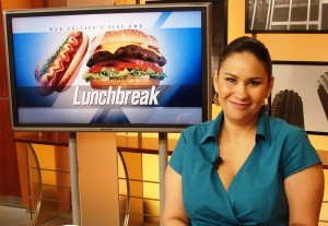 Chef Ana at WGN's Midday News
